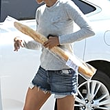 Halle Berry Nabs a Number One Bikini Bracket Spot —and Her Groceries!