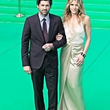Patrick Dempsey and his wife, Jillian, walked the green carpet at the Transformers premiere together.