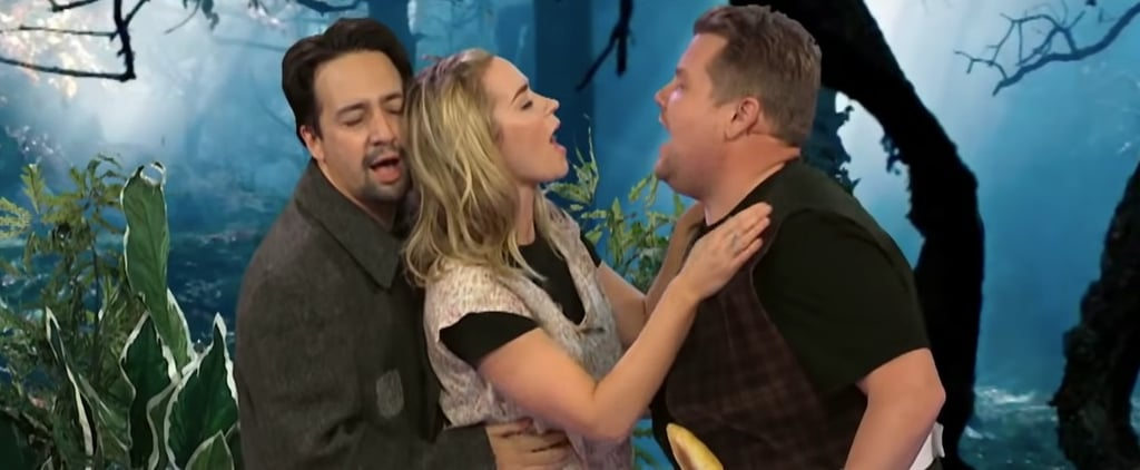 Emily Blunt and Lin-Manuel Miranda Musicals on James Corden