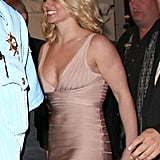 Britney was beaming.