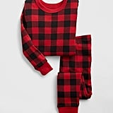 Help kids make a statement or match Mom and Dad in this babyGap Buffalo Plaid PJ Set ($27).