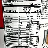 NadaMoo! Peppermint Bark Nutritional Information