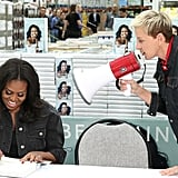 Ellen Crashed Michelle Obama's Book Tour
