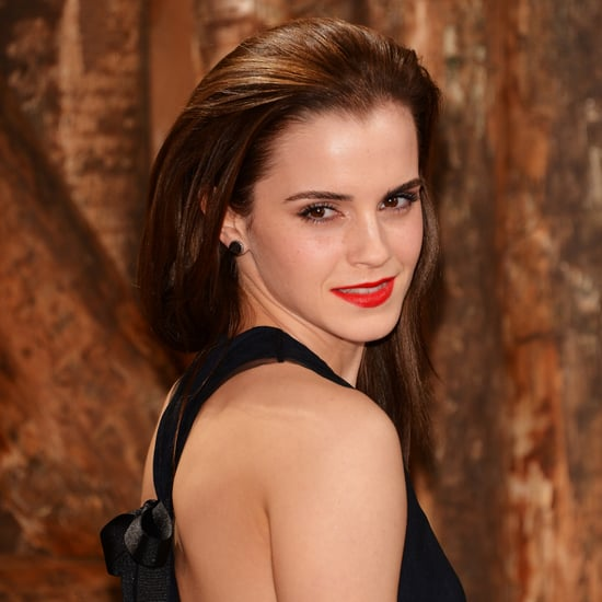 Pictures of Emma Watson's Hair and Makeup at Noah Premiere