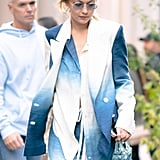 Gigi Hadid Carried a Jelly Bag That Reminds Us of the '90s