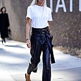 Flattering Spring Trend: Leather Pants