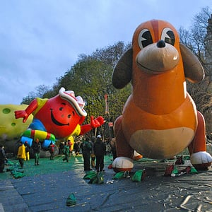 Macy's Thanksgiving Day Parade Balloons 2011