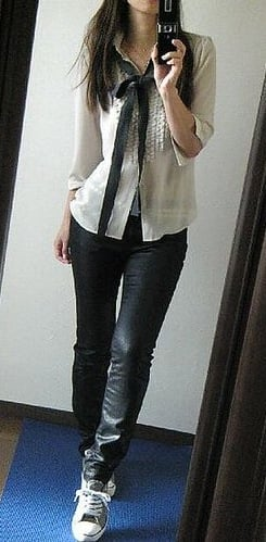 Look of the Day: Frilly and Funky