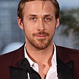 Ryan got comfortable at a Cannes photocall in 2011 — after walking the red carpet, he sexily undid his bow tie and unbuttoned his shirt a bit.