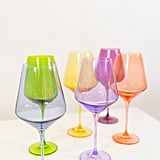 Estelle Colored Wine Stemware