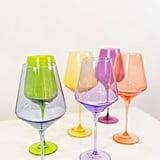 Estelle Coloured Wine Stemware