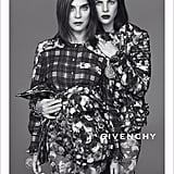 Carine Roitfeld and Julia Restoin Roitfeld photographed by Mert Alas and Marcus Piggott. Photo courtesy of Givenchy