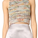Acne Studios Zelia Multi Sleeveless Crop Sweater