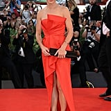 Sandra Bullock in J. Mendel at the Venice Film Festival