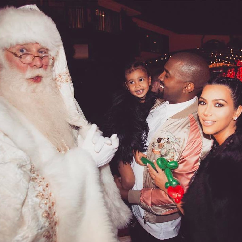 Kim Kardashian Christmas Lights 2016 | POPSUGAR Home