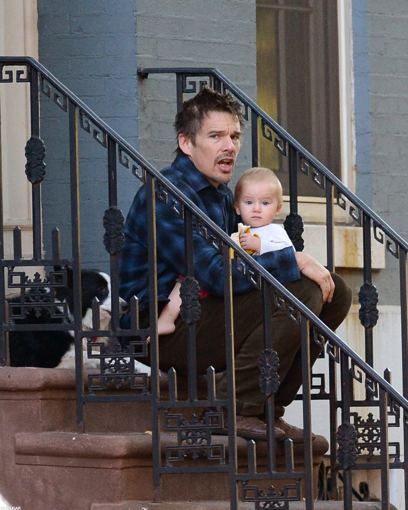 Ethan Hawke was in NYC.
