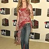 Early 2000s Fashion Trend: Long Asymmetrical Tops