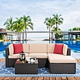 Vongrasig 5 Pieces Patio Furniture Set