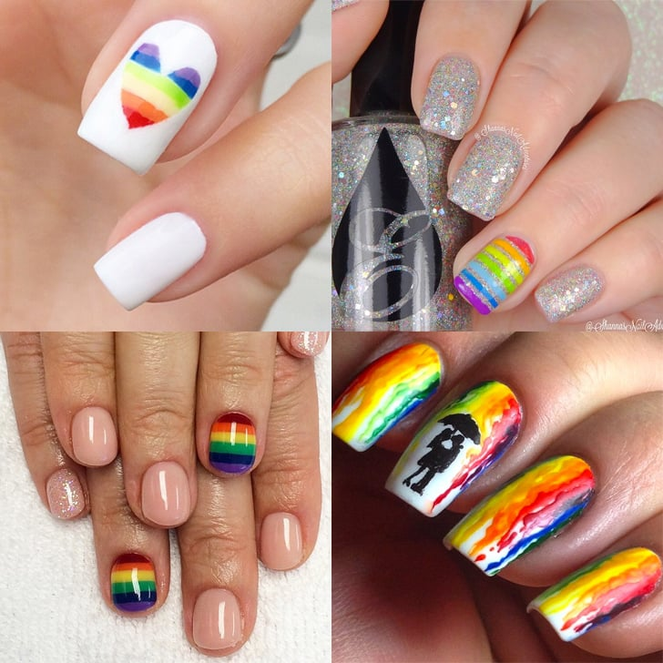 Rainbow Nail Art Ideas | POPSUGAR Beauty