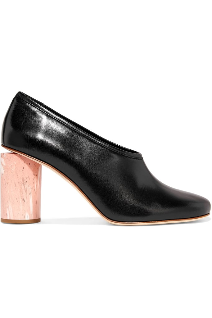 Believe it or not, these Acne Studios Any Leather Pumps ($540) are inspired by ballet slippers.