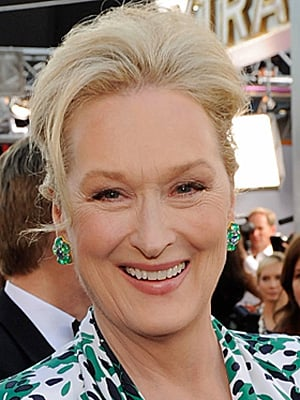 Meryl Streep at 2010 SAG Awards