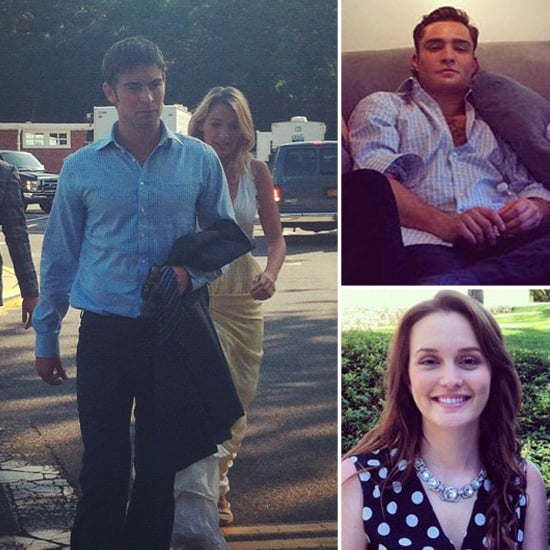 Blake Lively Reports Back to the Gossip Girl Set With Her Costars