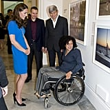 Kate Middleton at National Portrait Gallery