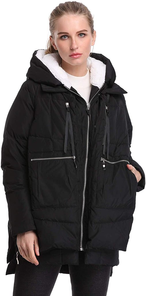 Fadshow Winter Down Jackets Long Down Coats Warm Parka With Hood