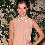 Hailee Steinfeld wore a jeweled version by Miu Miu to a Los Angeles bash in July.   Continue through the slideshow to shop Peter Pan collars.