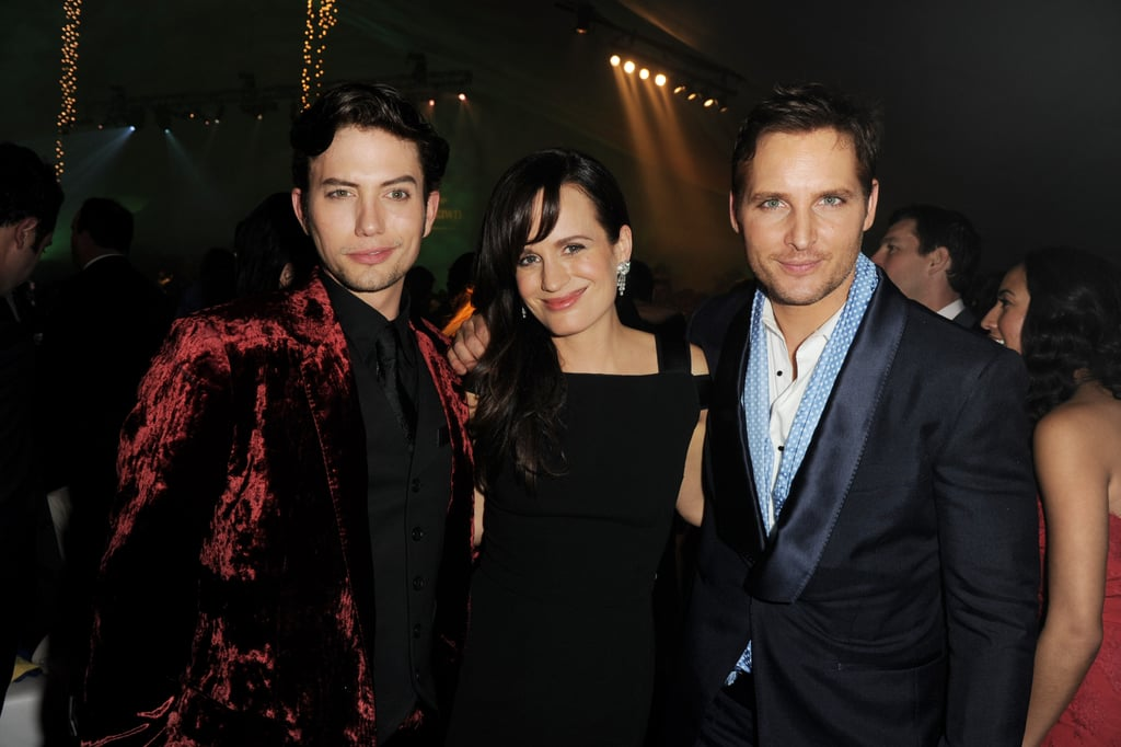 Jackson Rathbone, Elizabeth Reaser, and Peter Facinelli proudly partied in honor of Breaking Dawn.