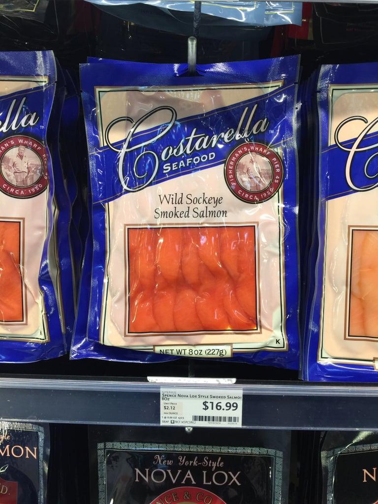 Best Whole Foods Product: Costarella Wild Sockeye Smoked Salmon ($17)