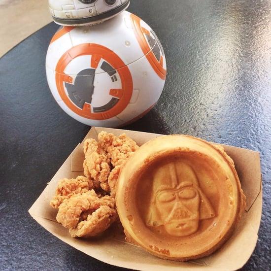 Disney World Star Wars Chicken and Waffles