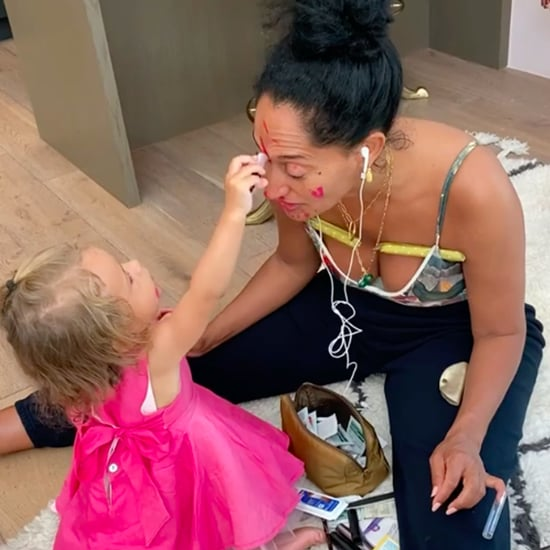 Tracee Ellis Ross Gets a Makeover From Her Niece Everlee