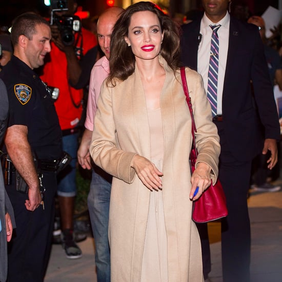 Angelina Jolie's Ryan Roche Nude Outfit