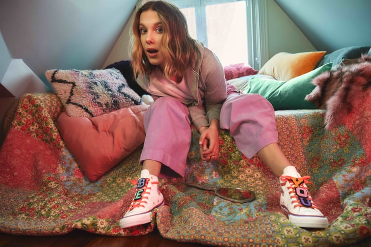 Millie Bobby Brown Dropped A Second Converse Collection Popsugar Fashion