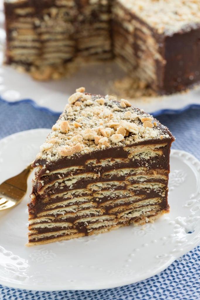 Cookie Brigadeiro Cake
