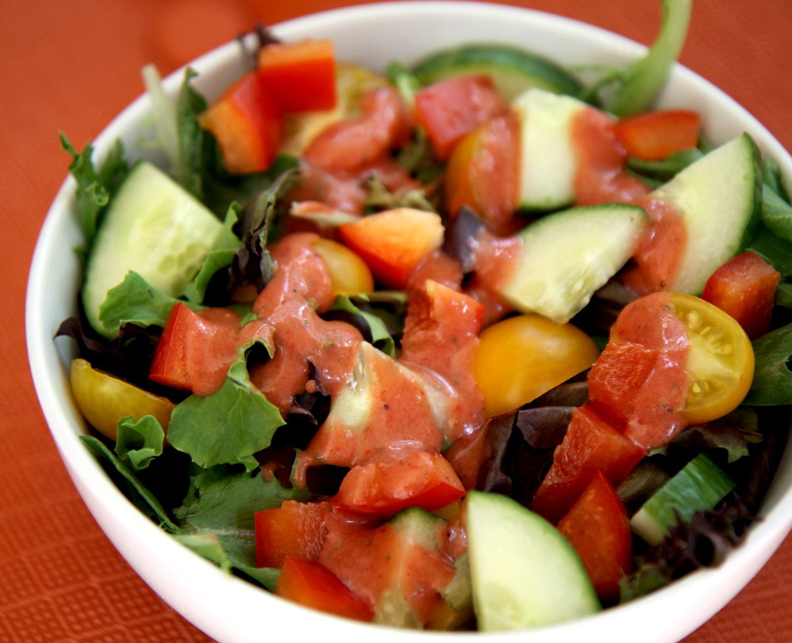 Bring a Huge Salad For Lunch