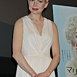Michelle Williams went to Asia with My Week With Marilyn.