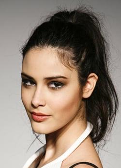 Backstage Photos Catwalk Models at Penkov London Fashion Week Show Spring 2009. Go Go Girl Ponytails Hair