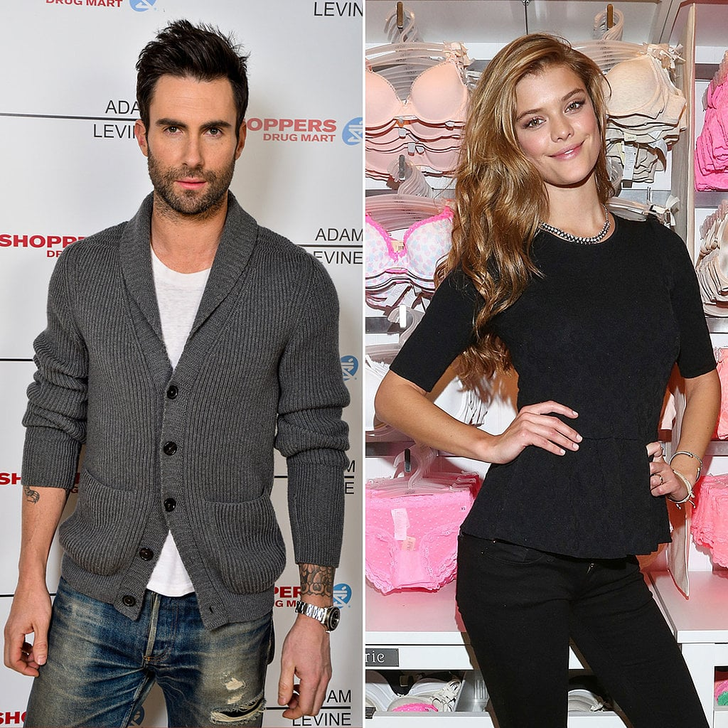 Adam Levine and Nina Agdal
