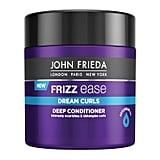 For Curly Hair Textures: John Frieda Frizz Ease Dream Curls Deep Conditioner