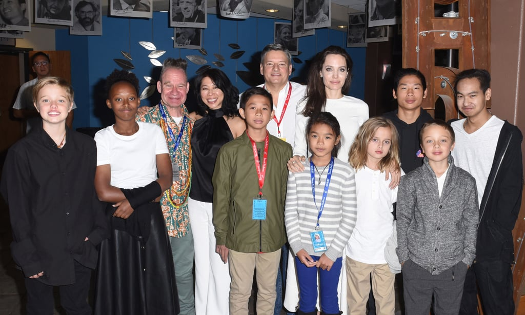 Angelina Jolie and Her Kids at Telluride Film Festival ...