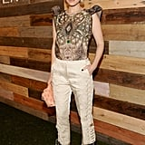 Kate Mara Wearing H&M Conscious Collection
