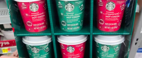Walmart Is Selling Starbucks Ornaments With Hot Cocoa Mix