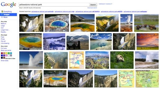 New Google Image Search