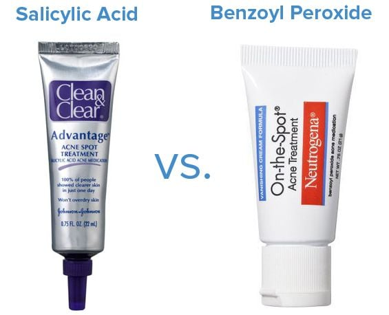 Pinterest was abuzz with pinners figuring out the difference between salicylic acid and benzoyl peroxide. Kiss your pimples goodbye!