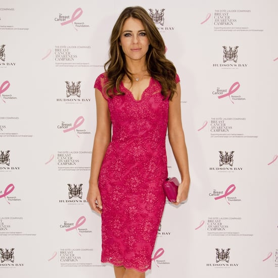 Photos of Elizabeth Hurley Wearing Pink Dresses
