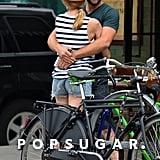Joshua Jackson and Diane Kruger NYC PDA