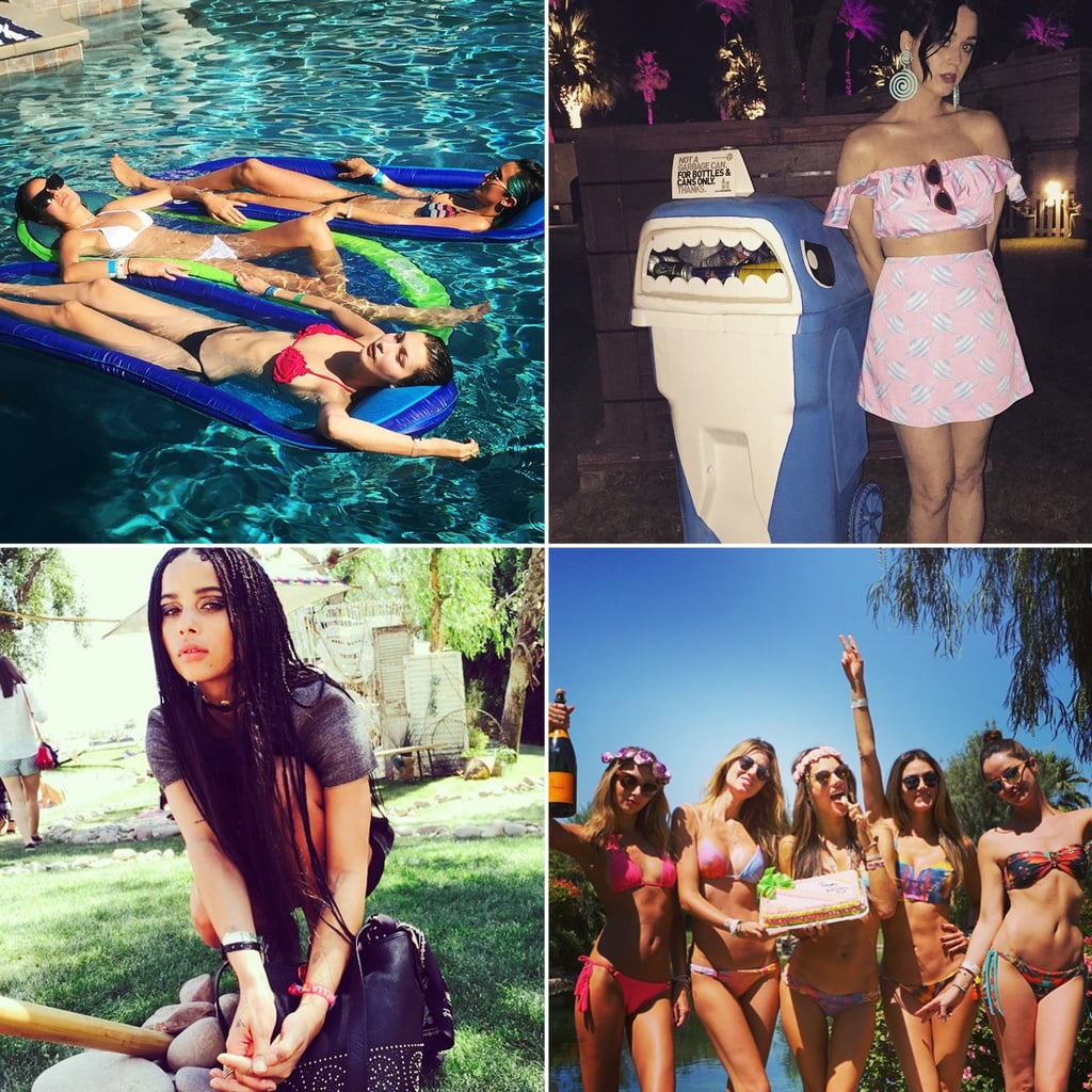 Behind the Scenes With the Stars at Coachella's First Weekend