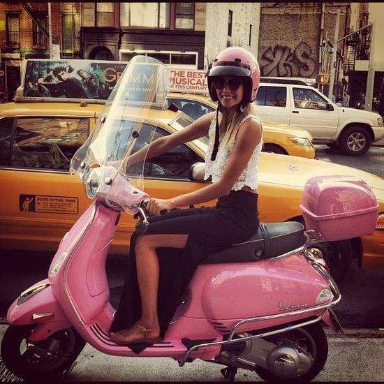 Instagram and Twitter Photos of Jess Hart, Coco Rocha and Miranda Kerr
